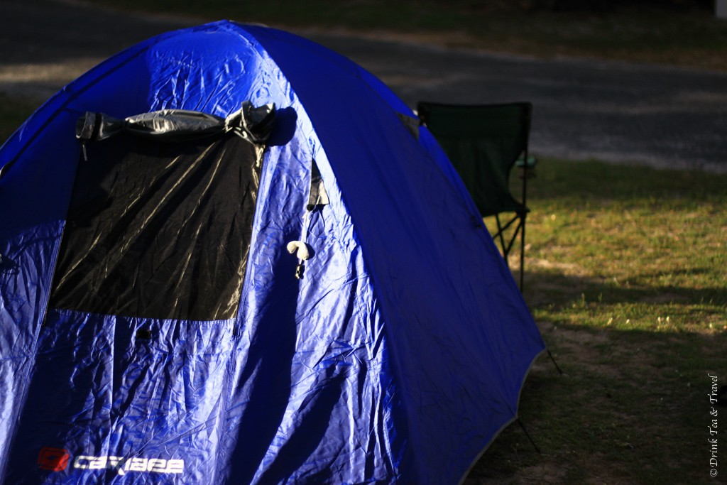Camping on Stradbroke Island