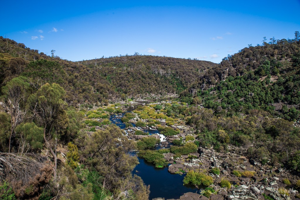Along the South Esk River. Cataract Gorge. Launceston, Tasmania. Australia