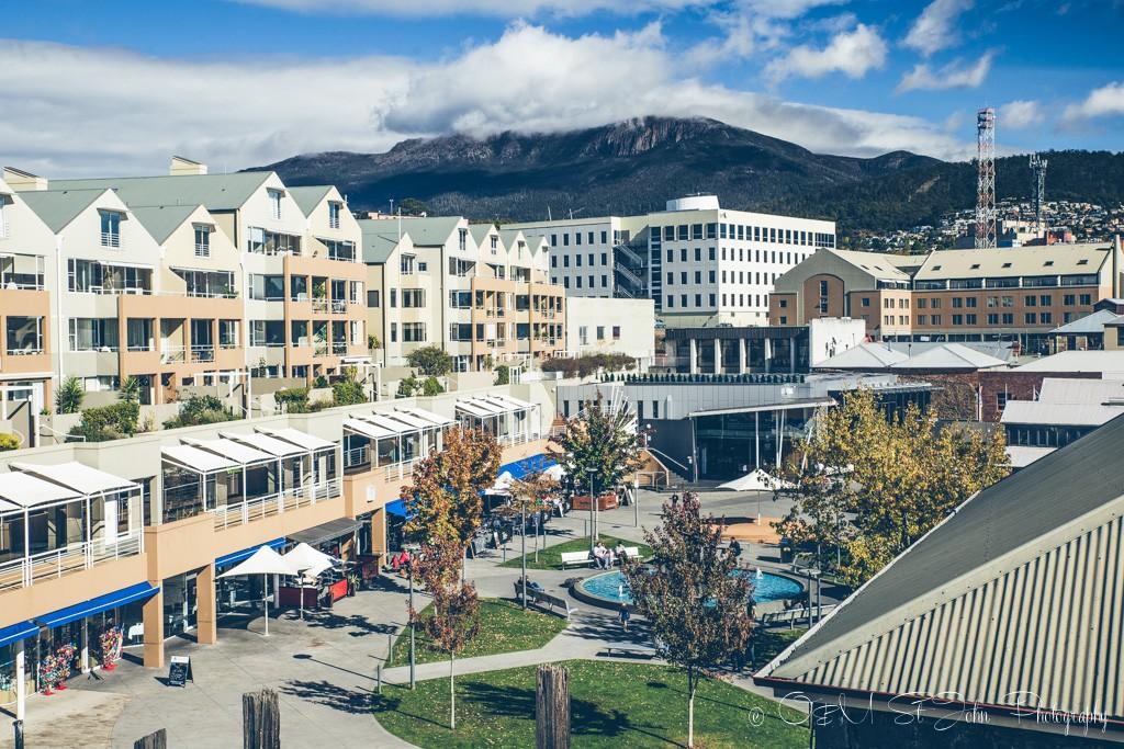 Australia travel tips: Salamanca Place, Hobart