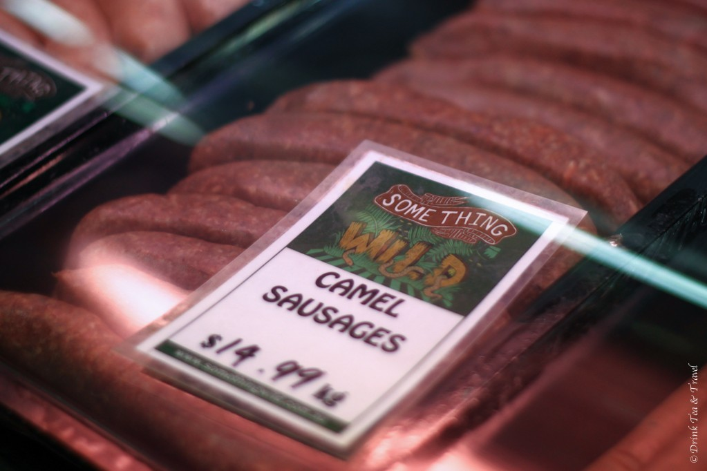 Camel Sausages in Australia