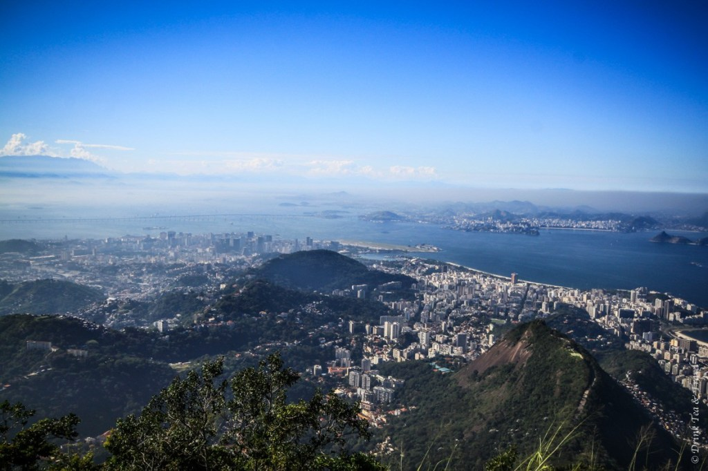North Eastern view from the top of Corcovado Mountain