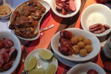 Food in Brazil. Cover photo