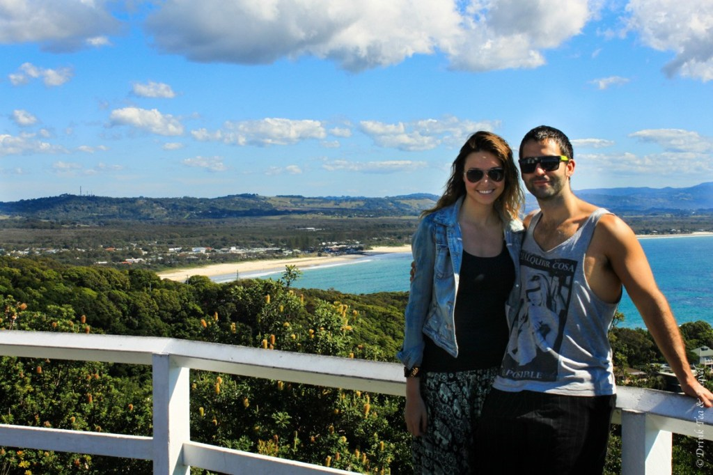 Perfect weekend away in Byron Bay, August 2014.