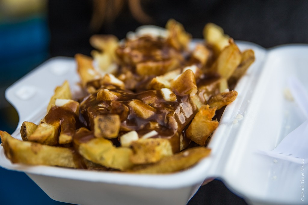 Poutine from a food truck in Toronto, Canada