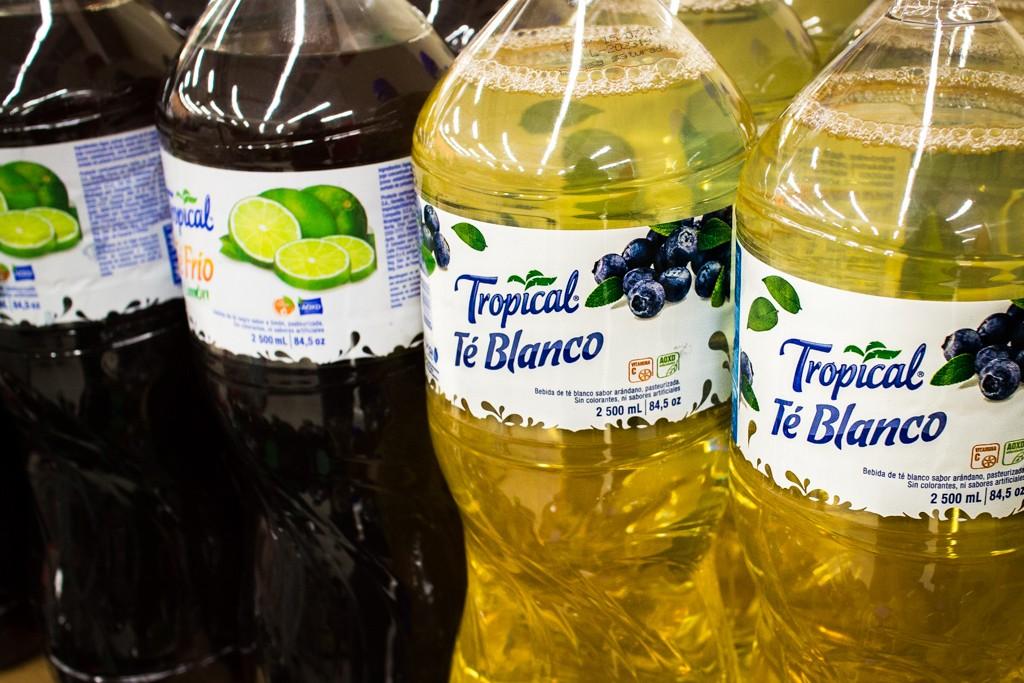 Costa Rican Supermarket: White Iced Tea
