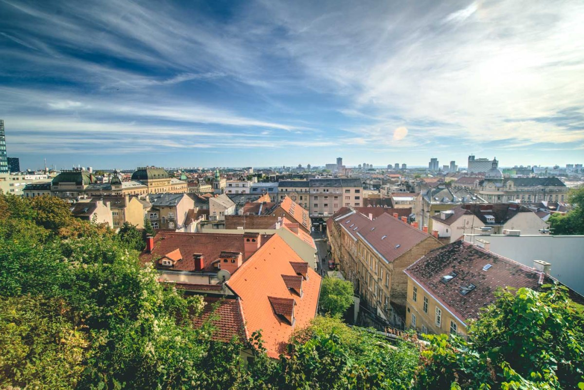 Zagreb from above