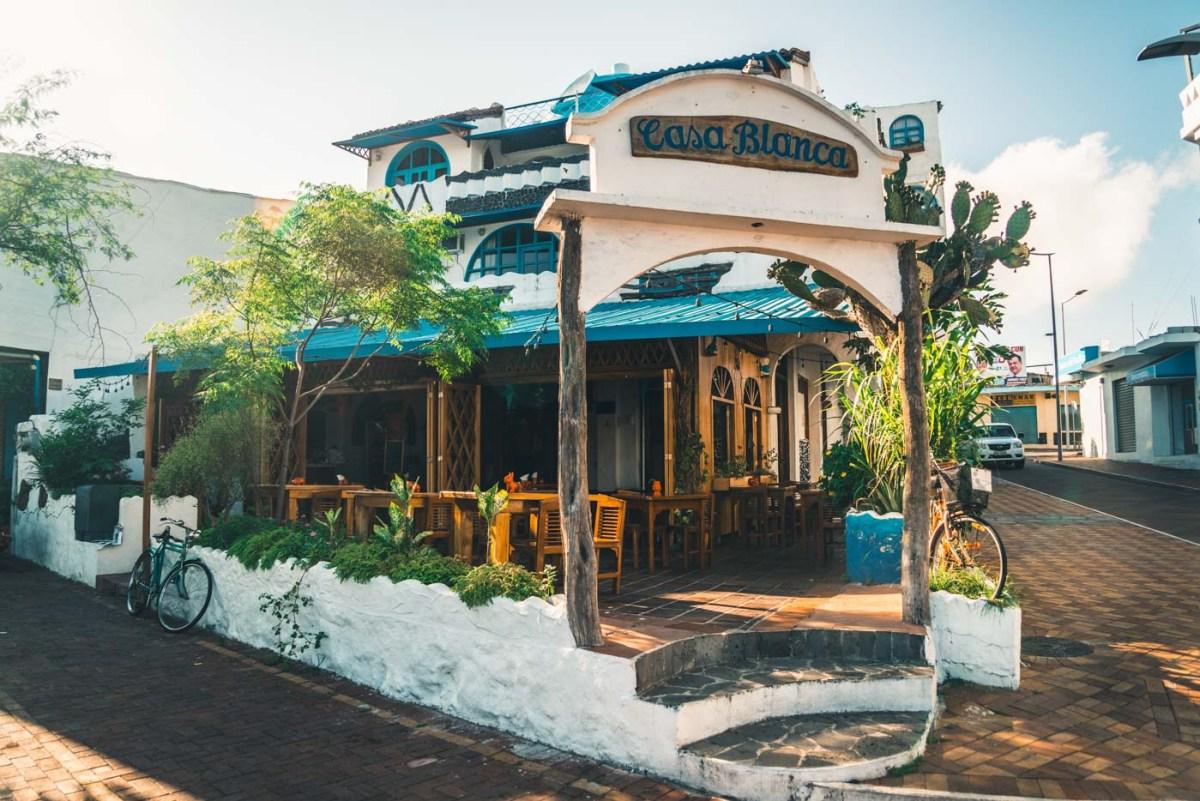 Casa Blanca Hotel in San Cristobal