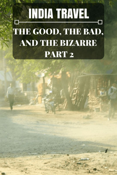 Last month, I started to reflect on my experience traveling in India with the first post in a 3 Part India Travel Series: the Good, the Bad and the Bizarre.