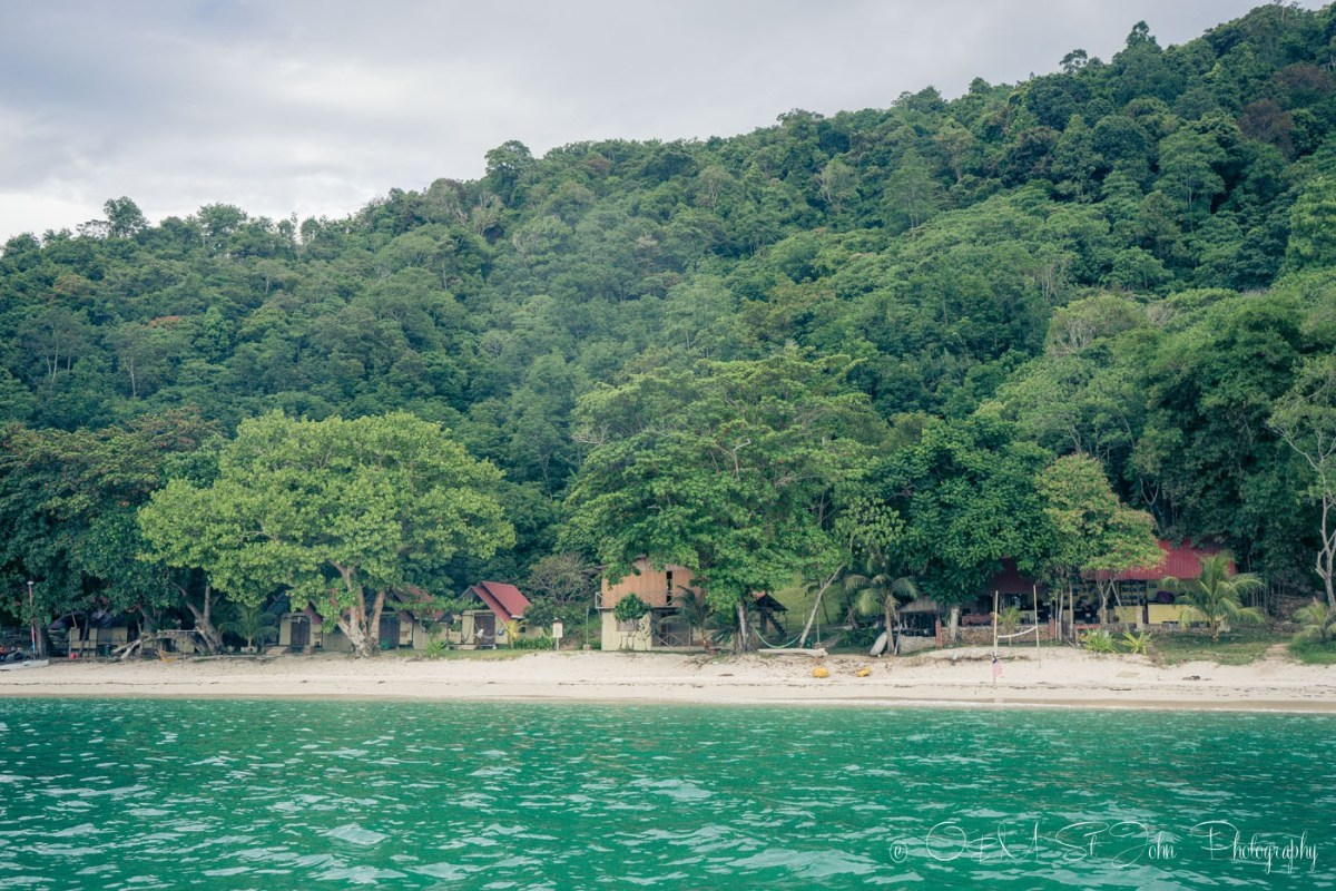 Manana Borneo Resort, a simple off the grid getaway away from the crowds. Sabah. Malaysia