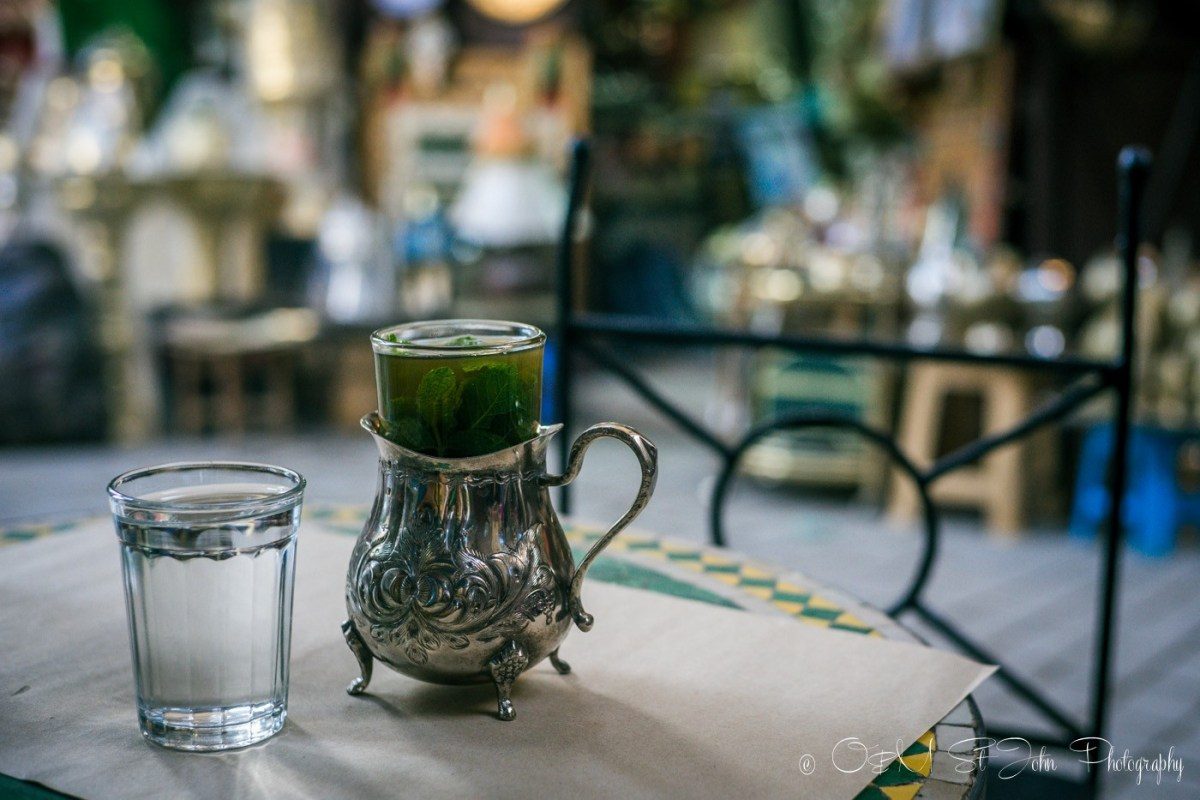 Moroccan Mint Tea. Morocco