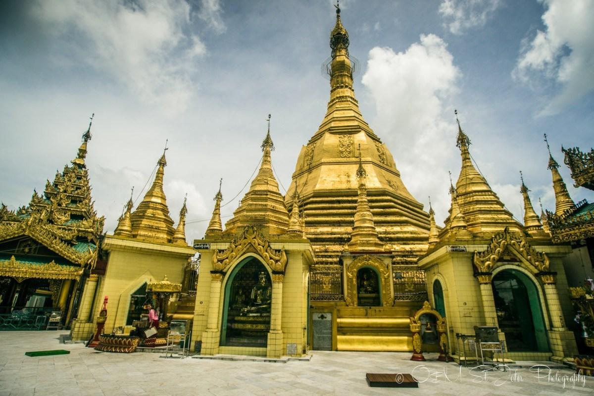 Sule Pagoda. Yangon. Myanmar
