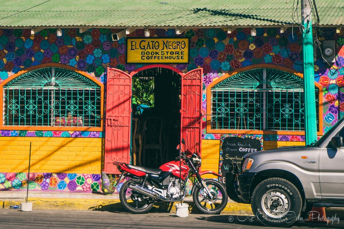 El Gato Negro Cafe, San Juan del Sur. Nicaragua