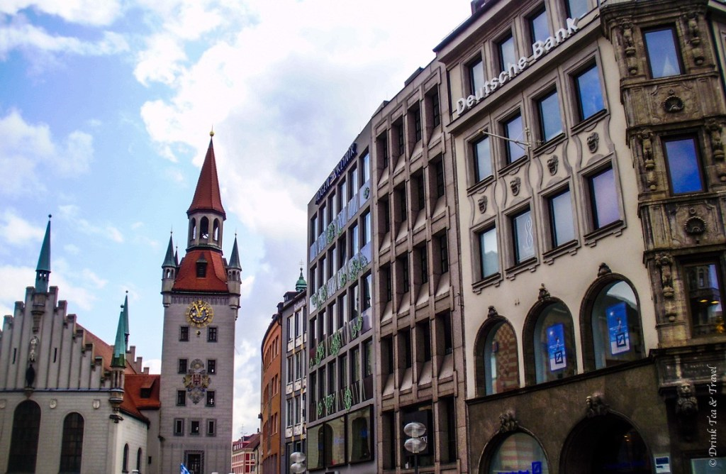 Around Marienplatz, Münich
