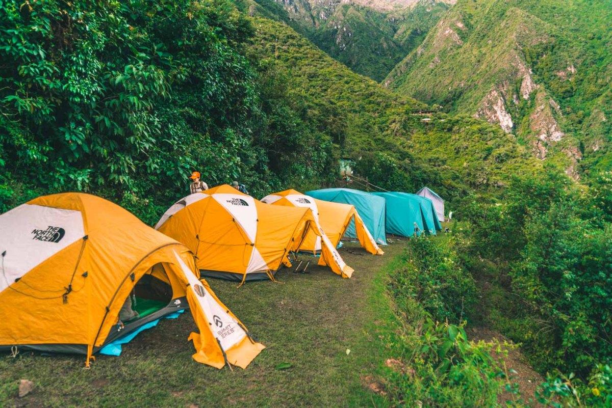 Campsite at Choquequirao