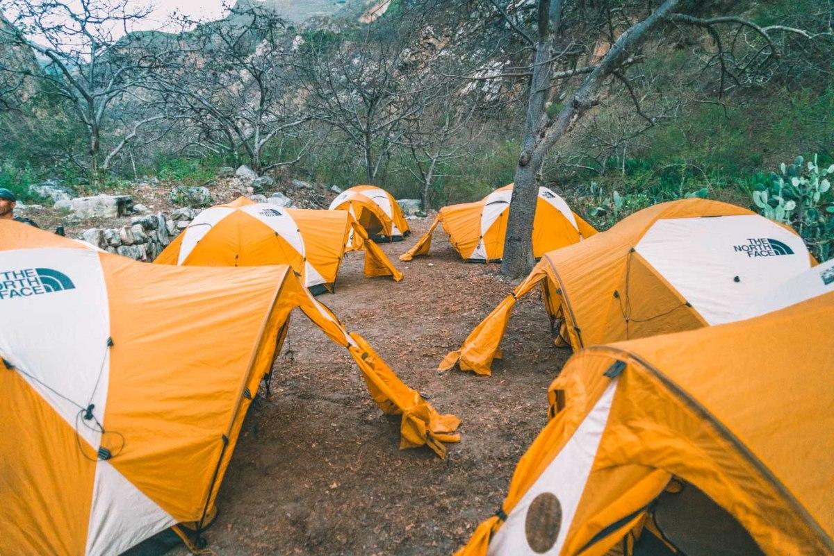 Camp at Playa Rosalina