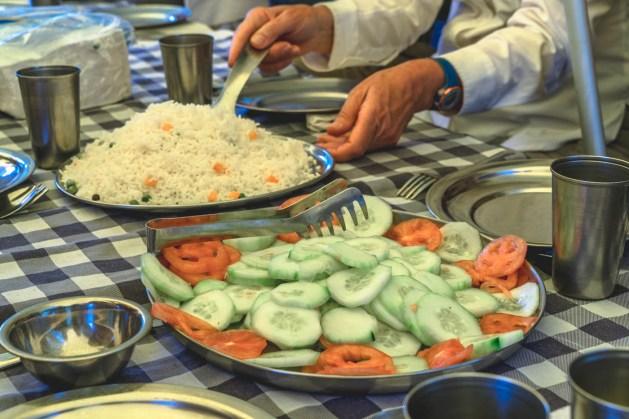 Peru Cusco Choquequirao trek food-6080