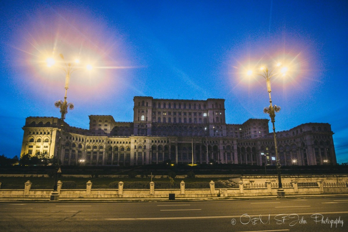 Palace of the Parliament. Bucharest. Romania