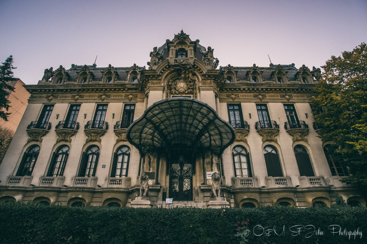 "The National Museum ""George Enescu"". Bucharest. Romania"