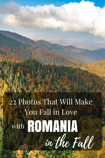 After traveling through Romania last fall, we are convinced that fall in the best time to visit Romania!