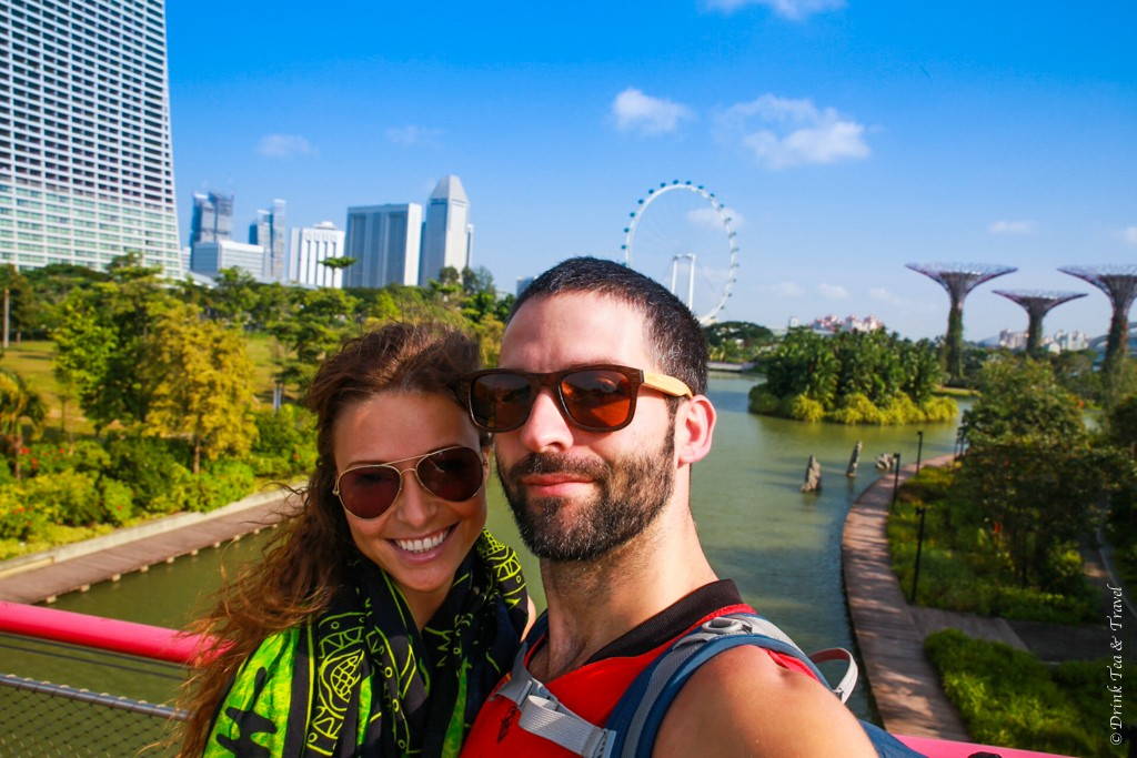 Mandatory Stopover in Singapore selfie!