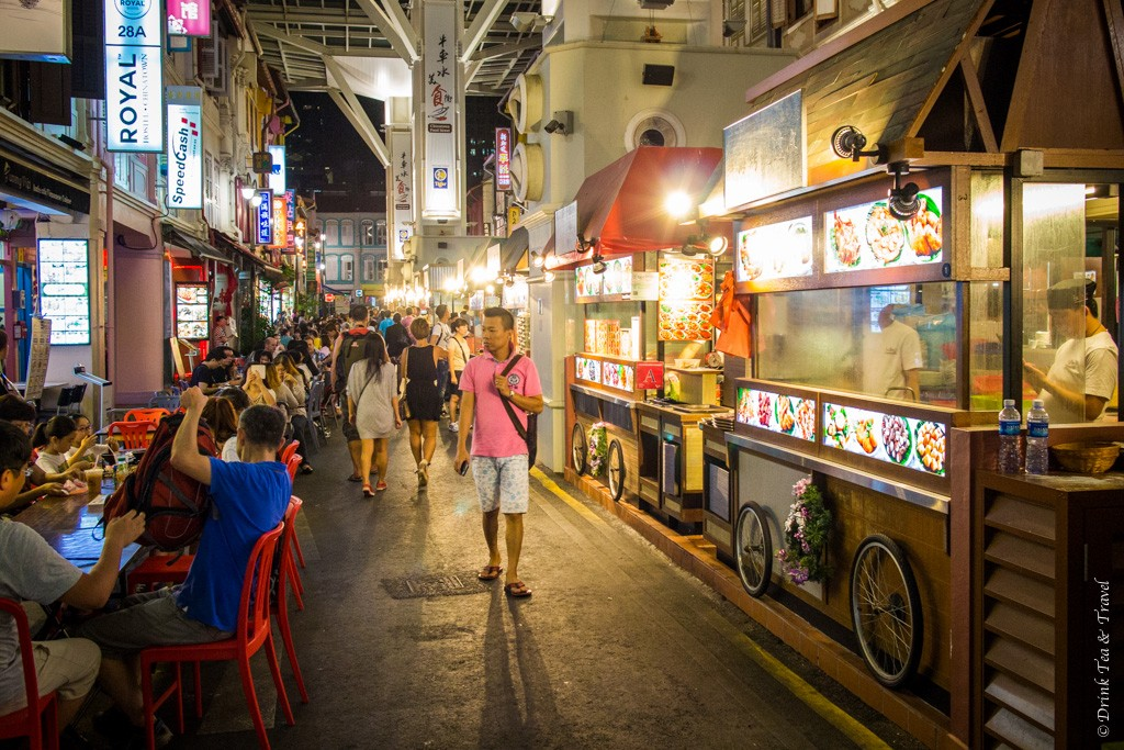 Food Street in Chinatown, Singapore