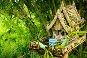 Spirit house in Thailand