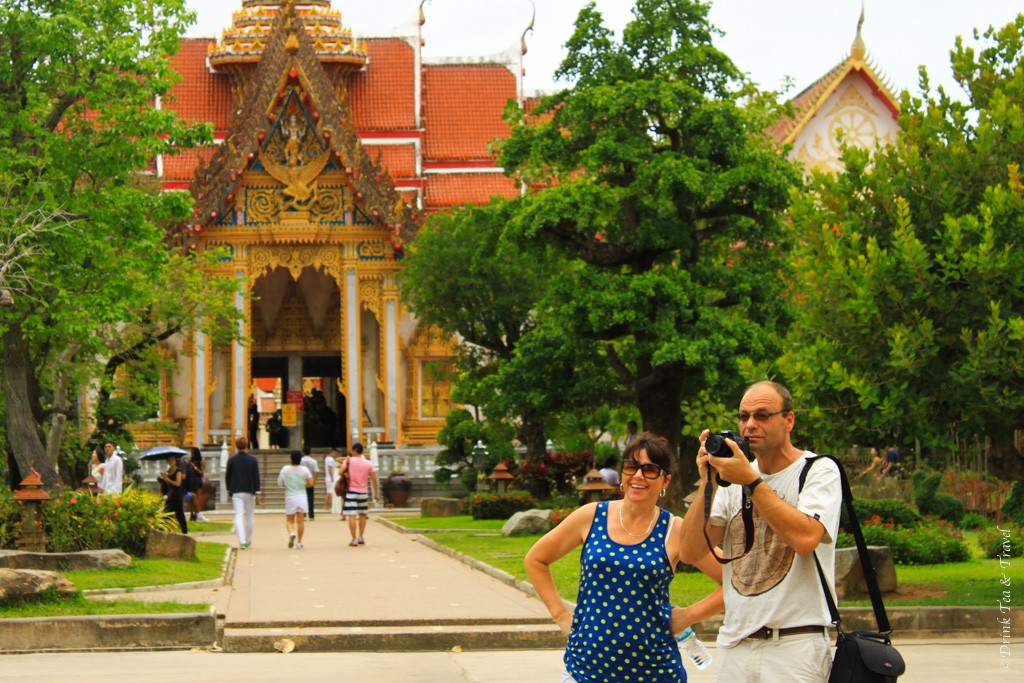 Mom and Dad in Phuket, Thailand
