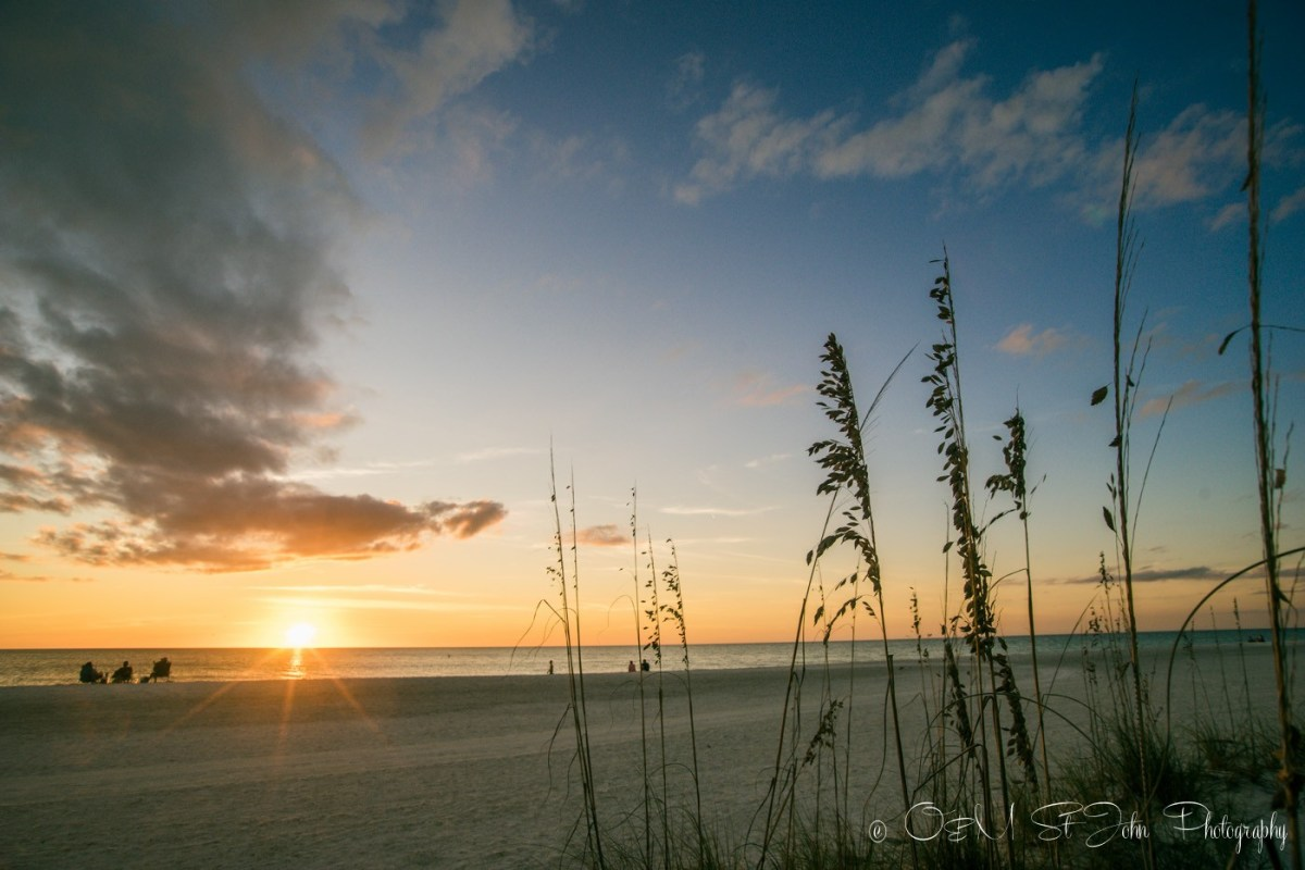 Sunset on Anna Maria Island, Florida. USA