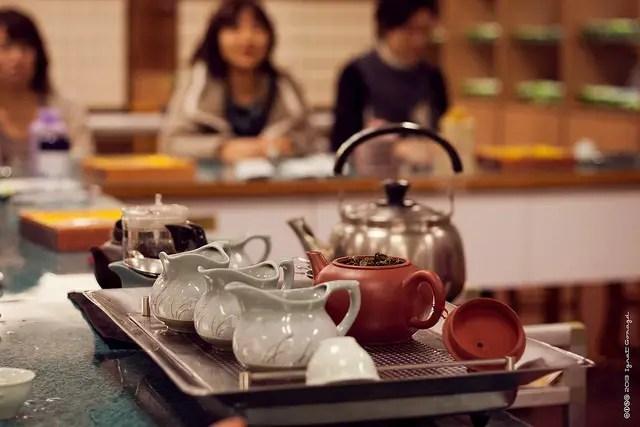 Pu-erh tea set