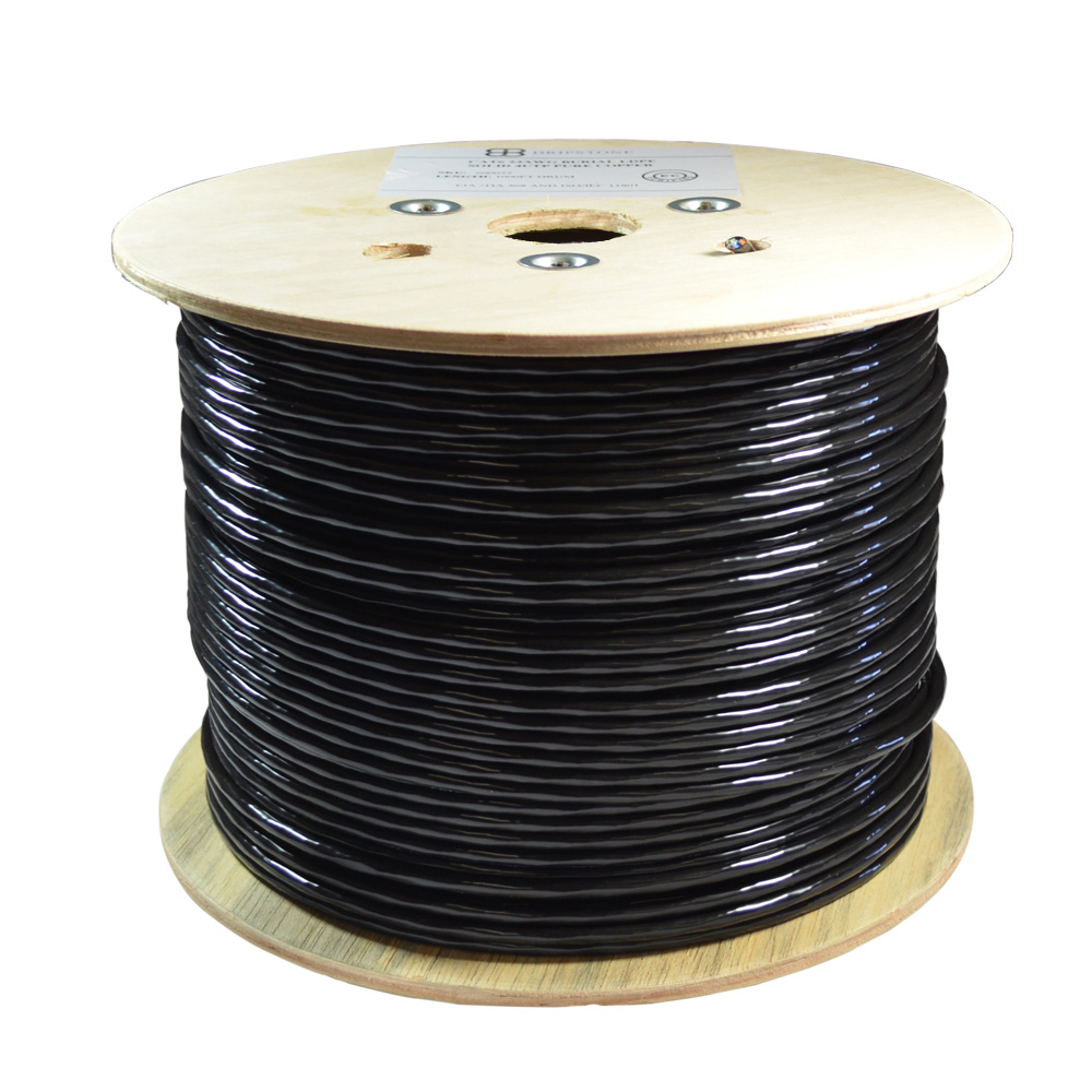 hight resolution of dripstone bare copper cat6 outdoor direct burial solid ethernet cable 23awg waterproof wire hdpe 23awg waterproof