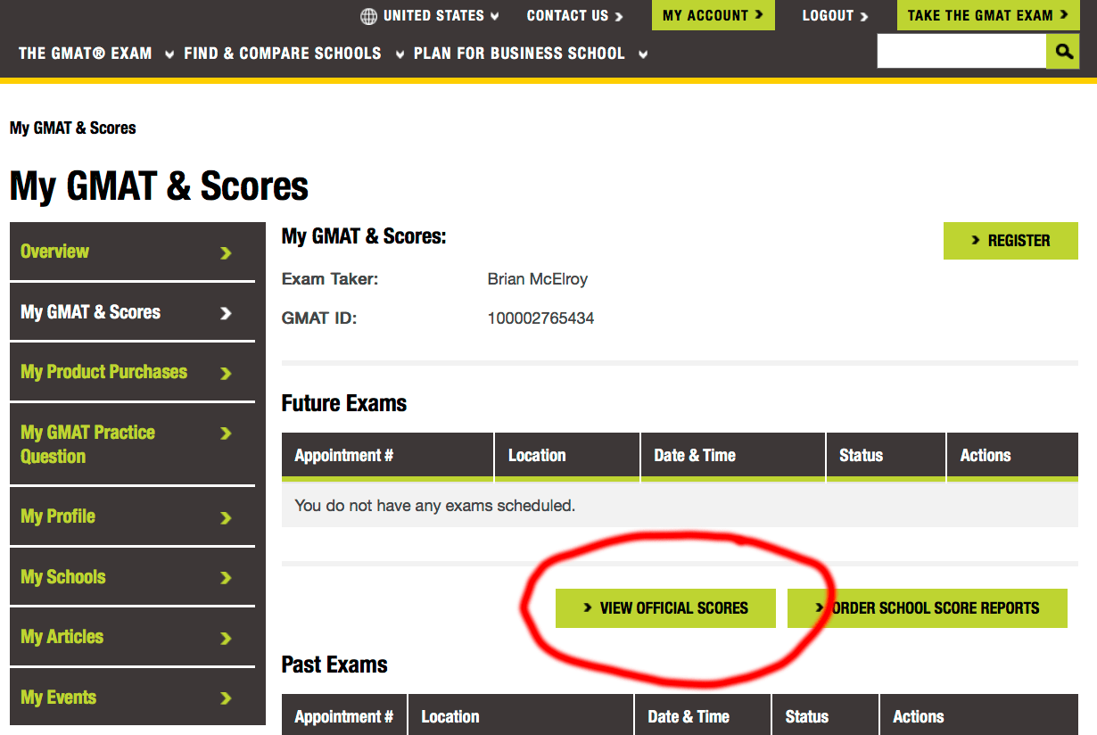 How to retrieve Pearson vue score report link : General GMAT Questions and Strategies