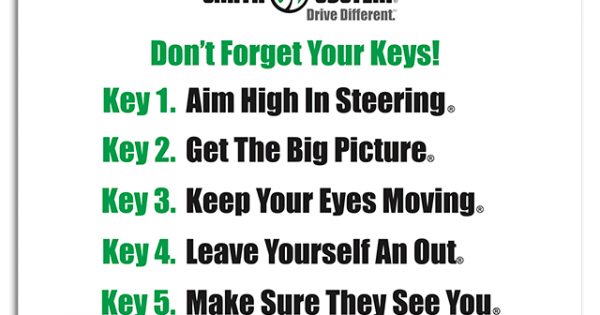 Dont Forget Your Keys Banner  Smith System Driver