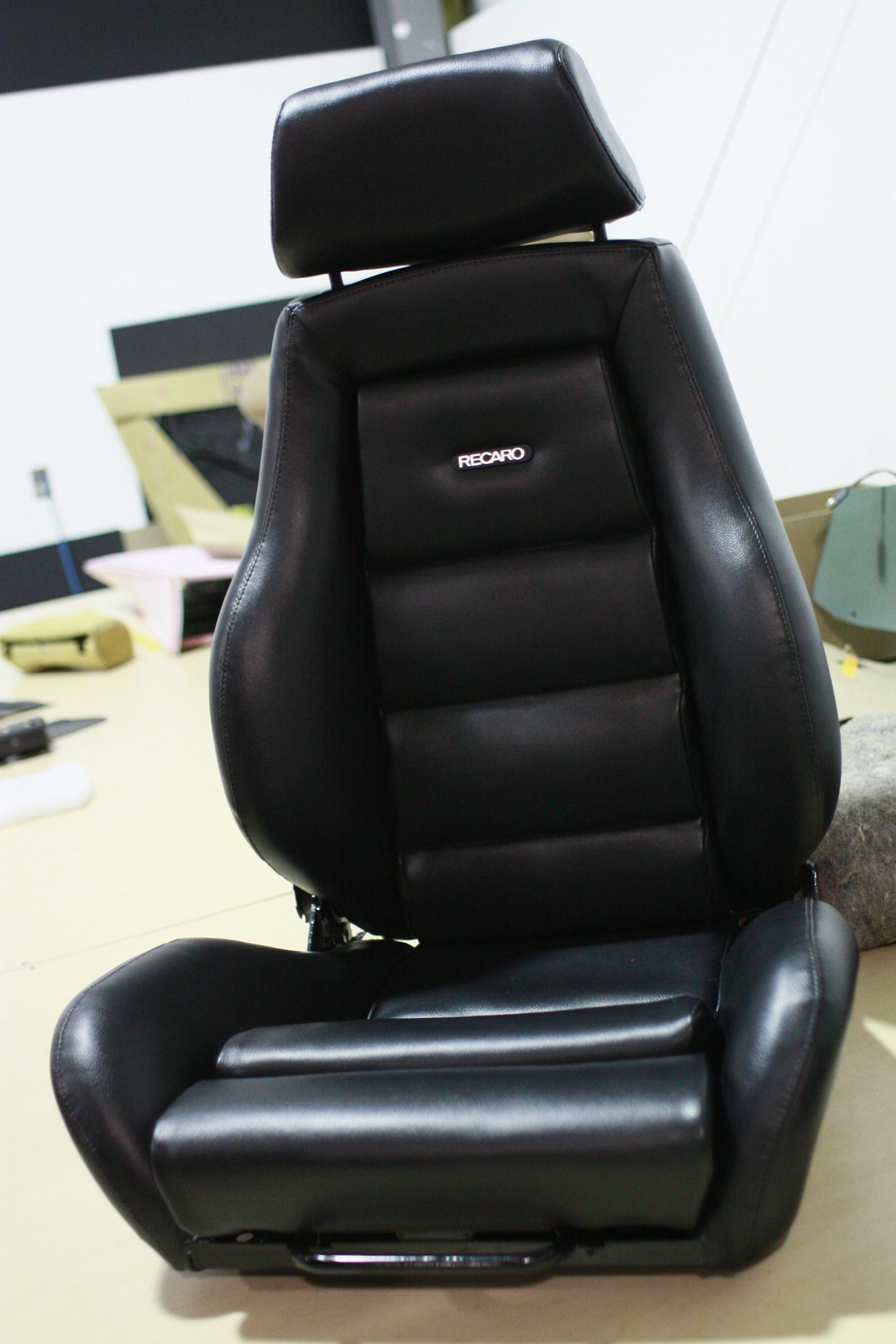 recovering chair cushions vinyl electric lift for stairs recaro seats rebuild and recover duncans speed custom