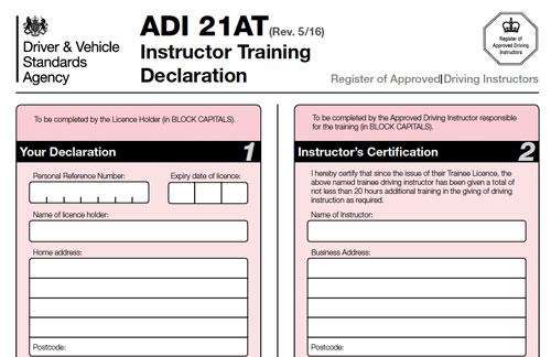 PDI Trainee Licence DriveJohnson's