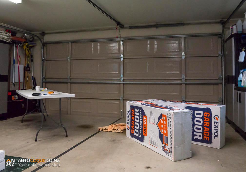 Expol Garage Door Insulation Kit  Install  Product