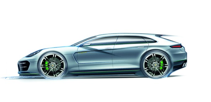 Konzeptstudie Panamera Sport Turismo @ drivelife.it magazine on line