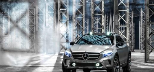 Mercedes-Benz GLA Showcar; 2013