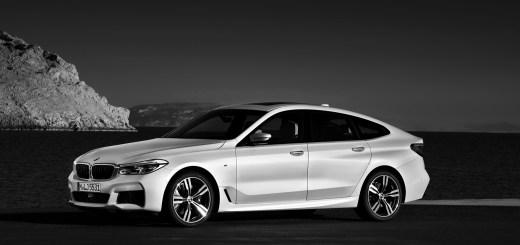 BMW 6er Gran Tourismo, 640i xDrive, Mineralweiß, M Sportpaket - IN TV 1 LUGLIO