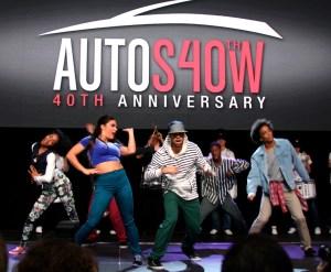 Car show dancers