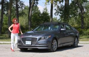 Krystyna Lagowski 2015 Hyundai Genesis