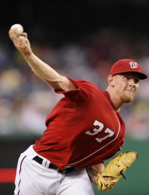 Stephen Strasburg at Ball Release