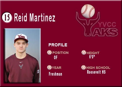 Reid Martinez - YVCC Profile