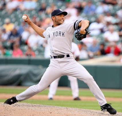 New York Yankee Mariano Rivera pitched a scoreless ninth inning against the Baltimore Orioles, Sunday July 29, 2007 at Camden Yards in Baltimore. The Yankees won 10-6..