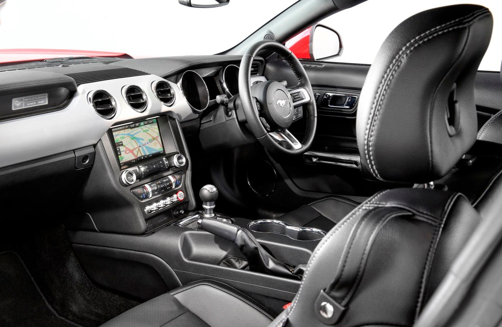 medium resolution of the interior of the ford mustang coupe