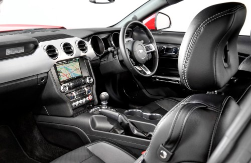 small resolution of the interior of the ford mustang coupe