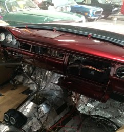 the vintage air air conditioning is being installed ididit tilt steering column  [ 3264 x 2448 Pixel ]