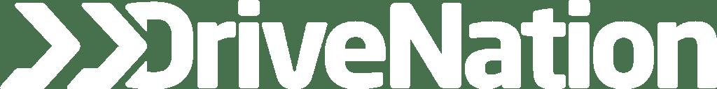 DriveNation Logo All White