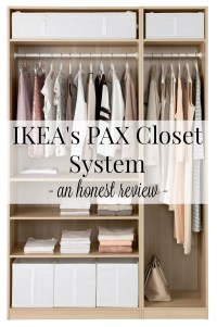 IKEA's PAX Closet Systems: An Honest Review | Driven by Decor
