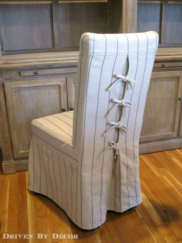 inexpensive desk chairs chair cushions for elderly dress up your dining with unique slipcovers | driven by decor