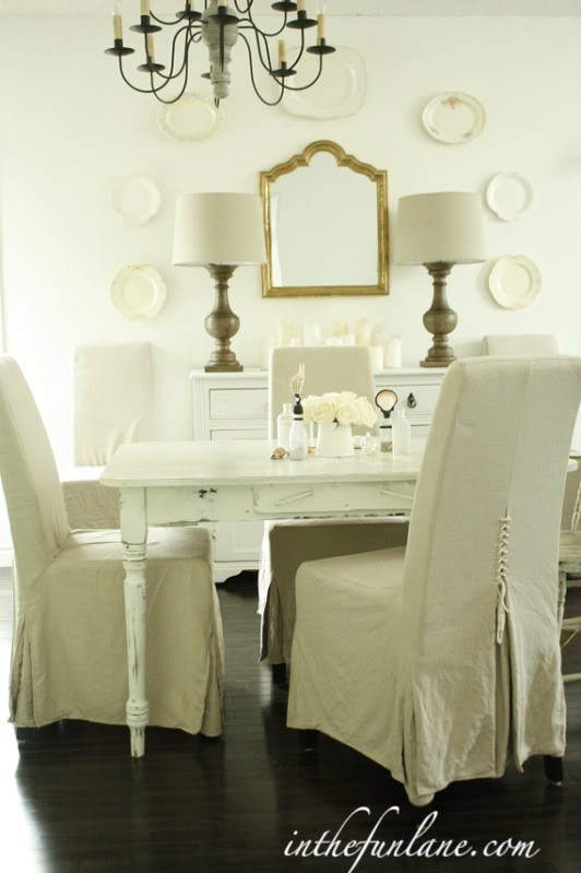 Dress Up Your Dining Chairs With Unique Slipcovers